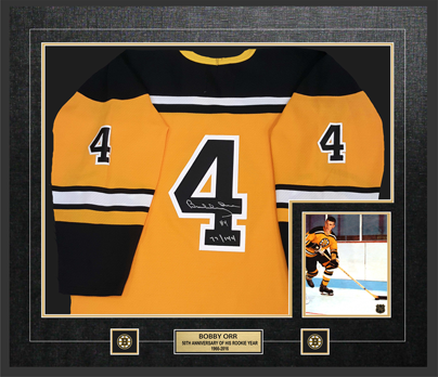 Framed Limited Edition 50th Anniversary Jersey