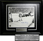 Signed Photo - Bobby Orr's 1970 Stanley Cup Winning Goal
