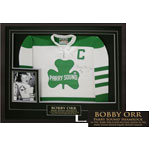 Parry Sound Shamrock Jersey Framed