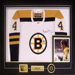 1967 Autographed Bobby Orr Jersey - Deluxe Frame