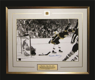 "16 x 20"" photo of Bobby's 1970 Stanley Cup"