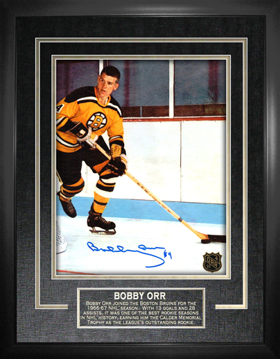 Framed Photo - Bobby's First Season