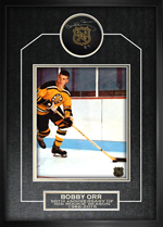 Signed 50th Anniversary Puck, Frame, and Photo