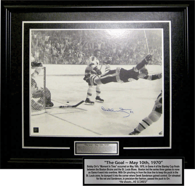 Large Photo of Bobby Orr's 1970 Goal