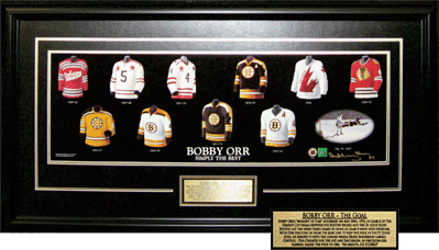 History of Bobby's Jersey Signed Print